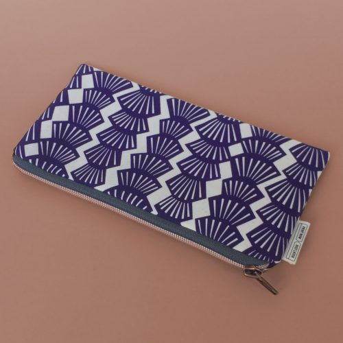 pencil case violet